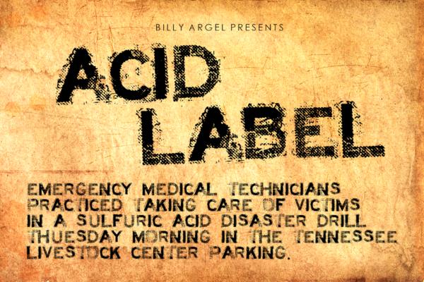 Acid Label