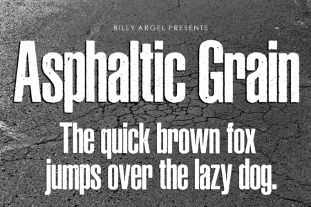 Asphaltic Grain
