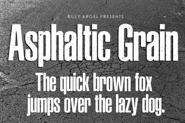 Asphaltic Grain