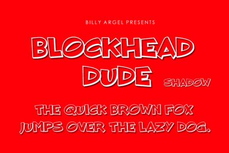 Blockhead Dude Shadow