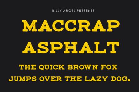 Mac Crap Asphalt