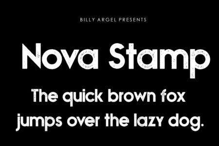 Nova Stamp Bold