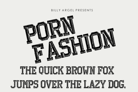 Porn Fashion