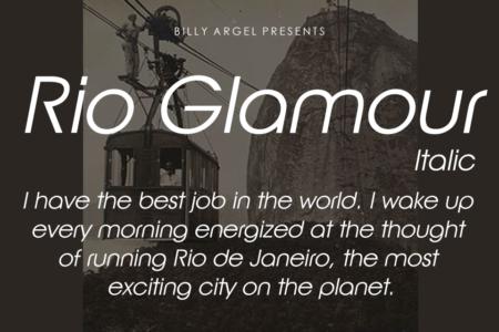 Rio Glamour Italic