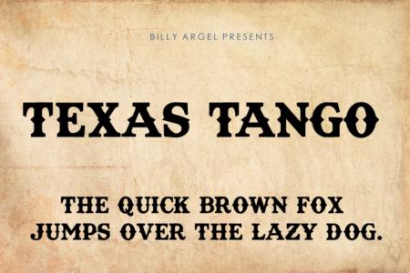 Texas Tango Bold