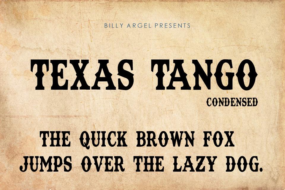 Tango Regular truetype font