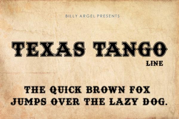 Texas Tango Line