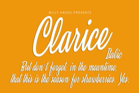Clarice italic