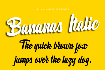 Bananas-Italic